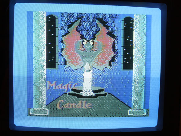 The Magic Candle Title Screen