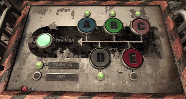 Devil's Train Buttons Puzzle Answer, Silent Hill Downpour