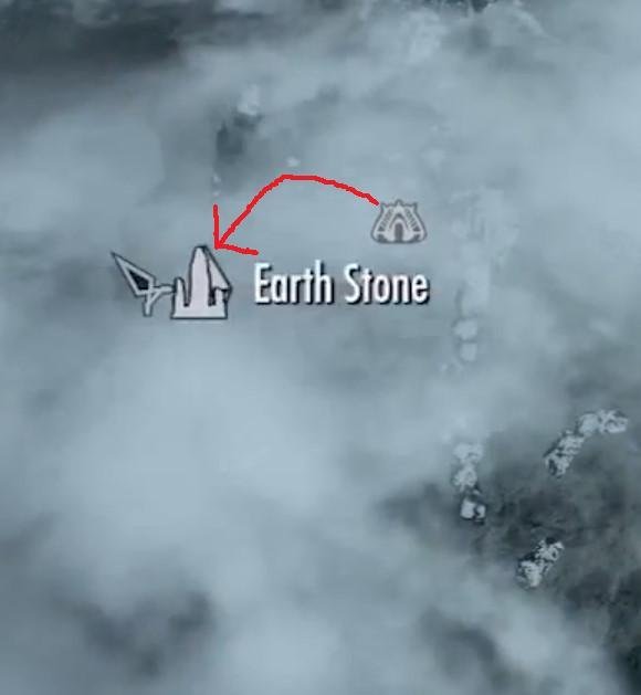 Ravenrock to Earth Stone Shrine in Dragonborn
