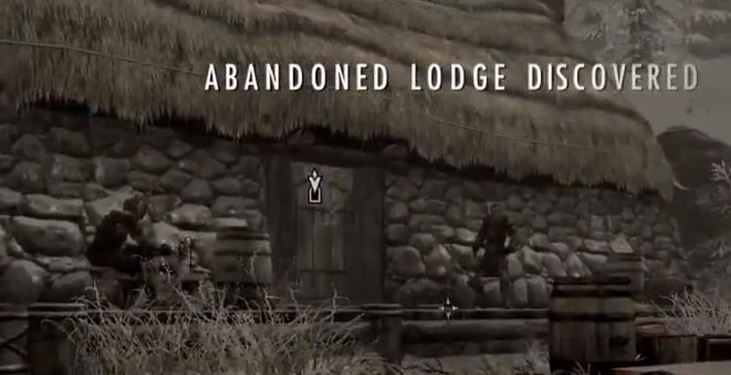 Skyrim Dragonborn Abandoned Lodge