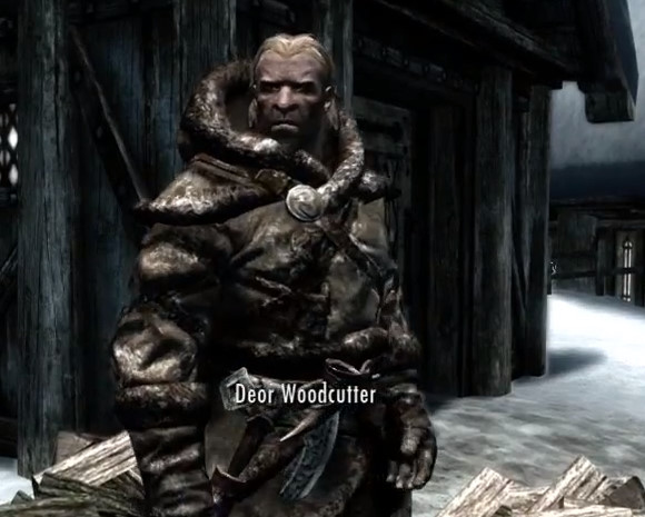 Deor Woodcutter from Skyrim Dragonborn