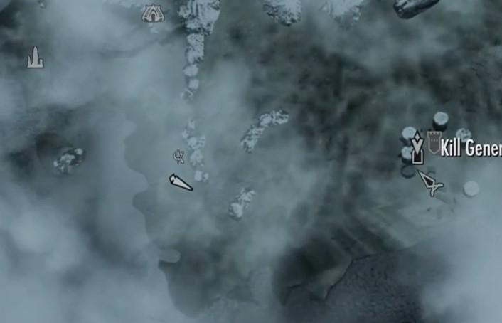 Fort Frostmoth in Skyrim Dragonborn