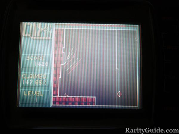 Atari Lynx Qix Gameplay