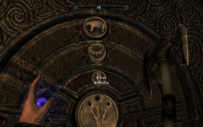 golden claw door puzzle solutions skyrim