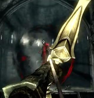 Use Auriel's Bow to kill Lord Harkon in Skyrim Dawnguard