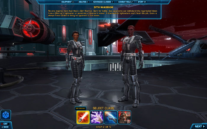 swtor how to buy races