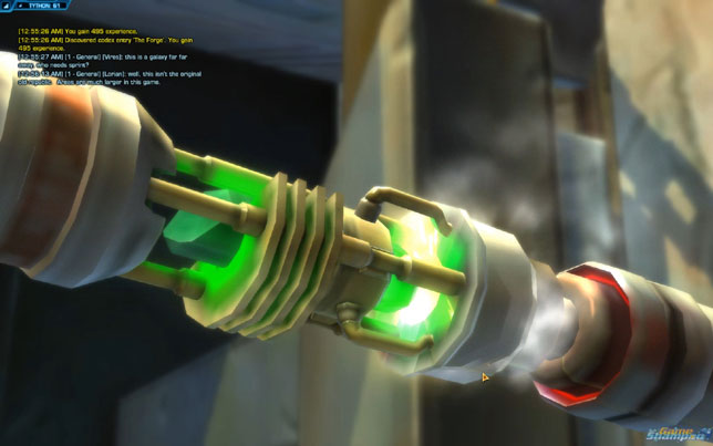 swtor how to get lightsaber