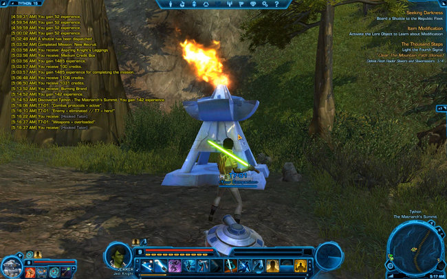 SWTOR The Thousand Steps