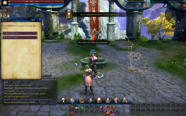 Tera Hopw To Get Island Of Dawn Quest