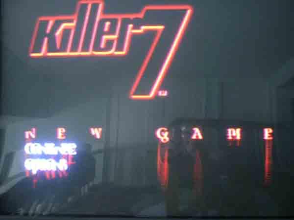 Killer 7 title screen