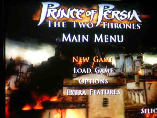 Princeof Persia: The Two Thrones Titlescreen