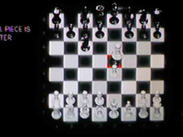 The Solution to the Chess Puzzle in Cluster 3