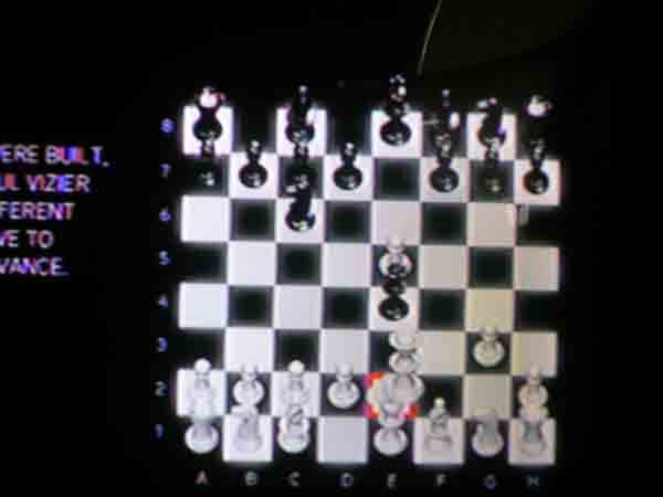 Solution to the Chess Puzzle in Cluster 5