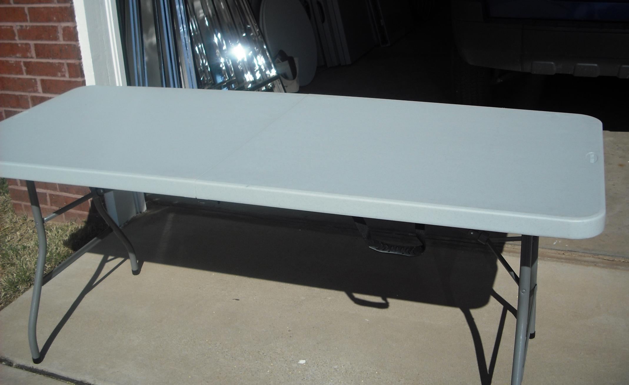 Brand-new Garage Sale Tables &QQ29 – Roccommunity