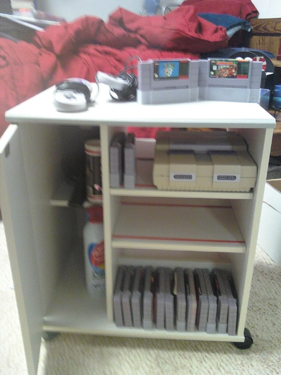 Nintendo NES Rare Game & System Cabinet spotted on Ebay