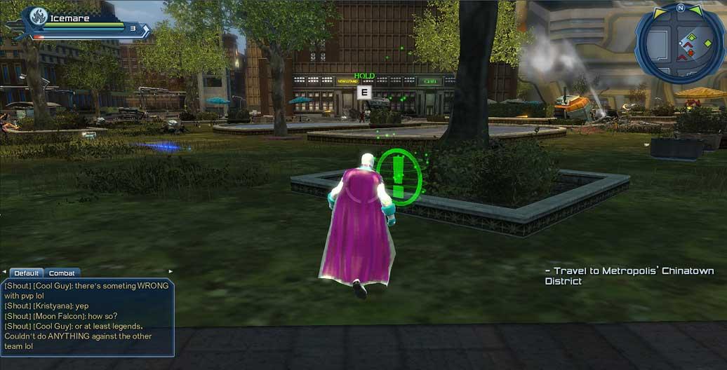 DC Universe Online Investigations Locations Guide - Metropolis