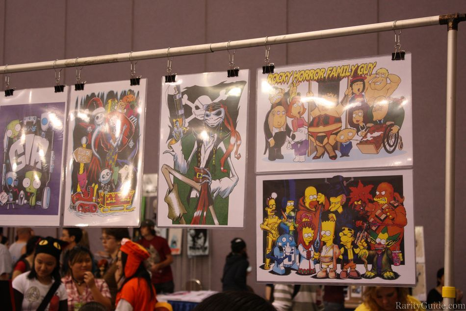 Anime Expo Stands : Fanime coverage artist alley more pictures