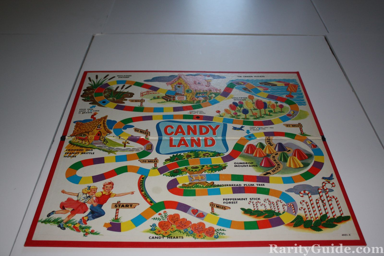 RarityGuide com Museum: Card and Board Games » Candy Land