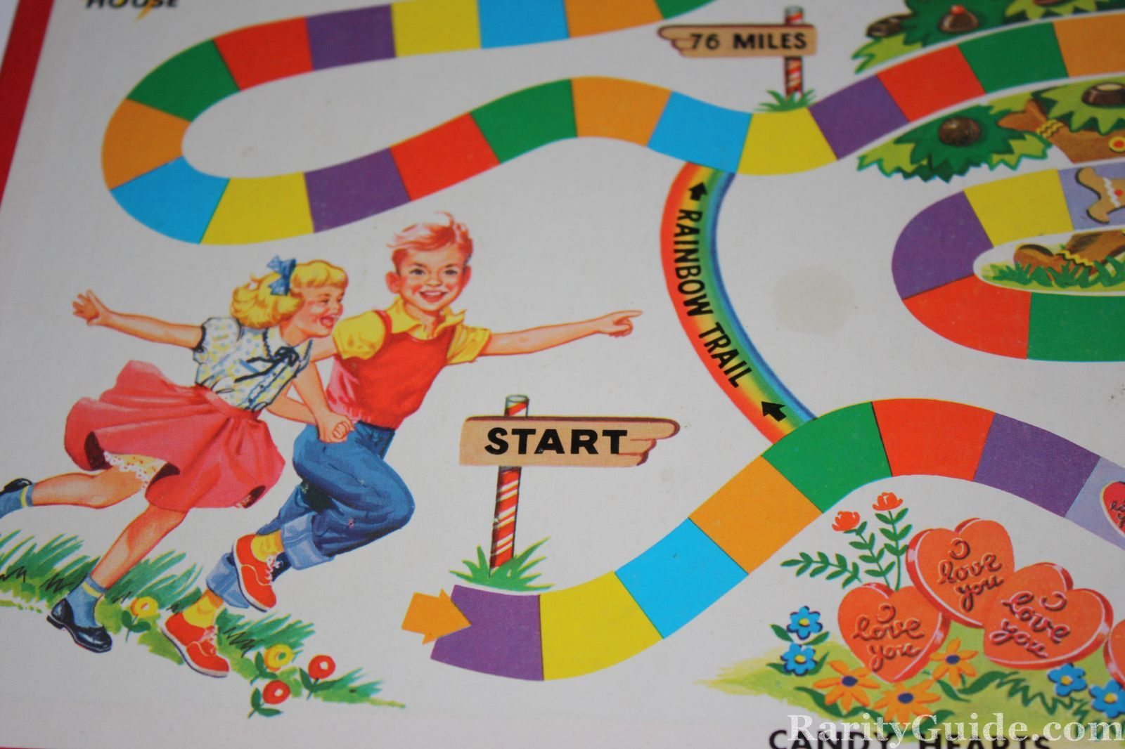 Candyland King Candy Candy Land Board Game by