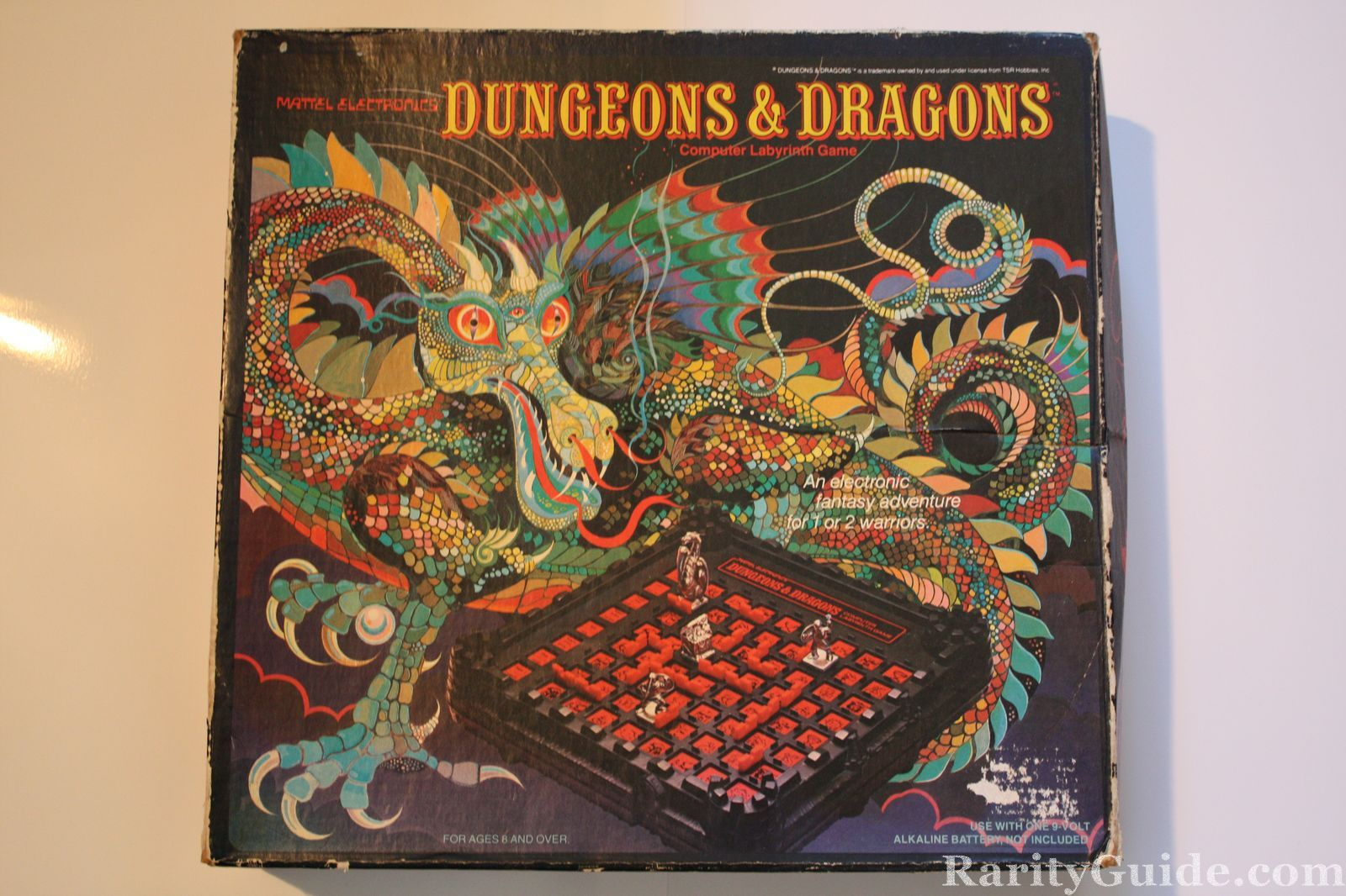 RarityGuide.com Museum: Card and Board Games » Dungeons ... Labyrinth 1986