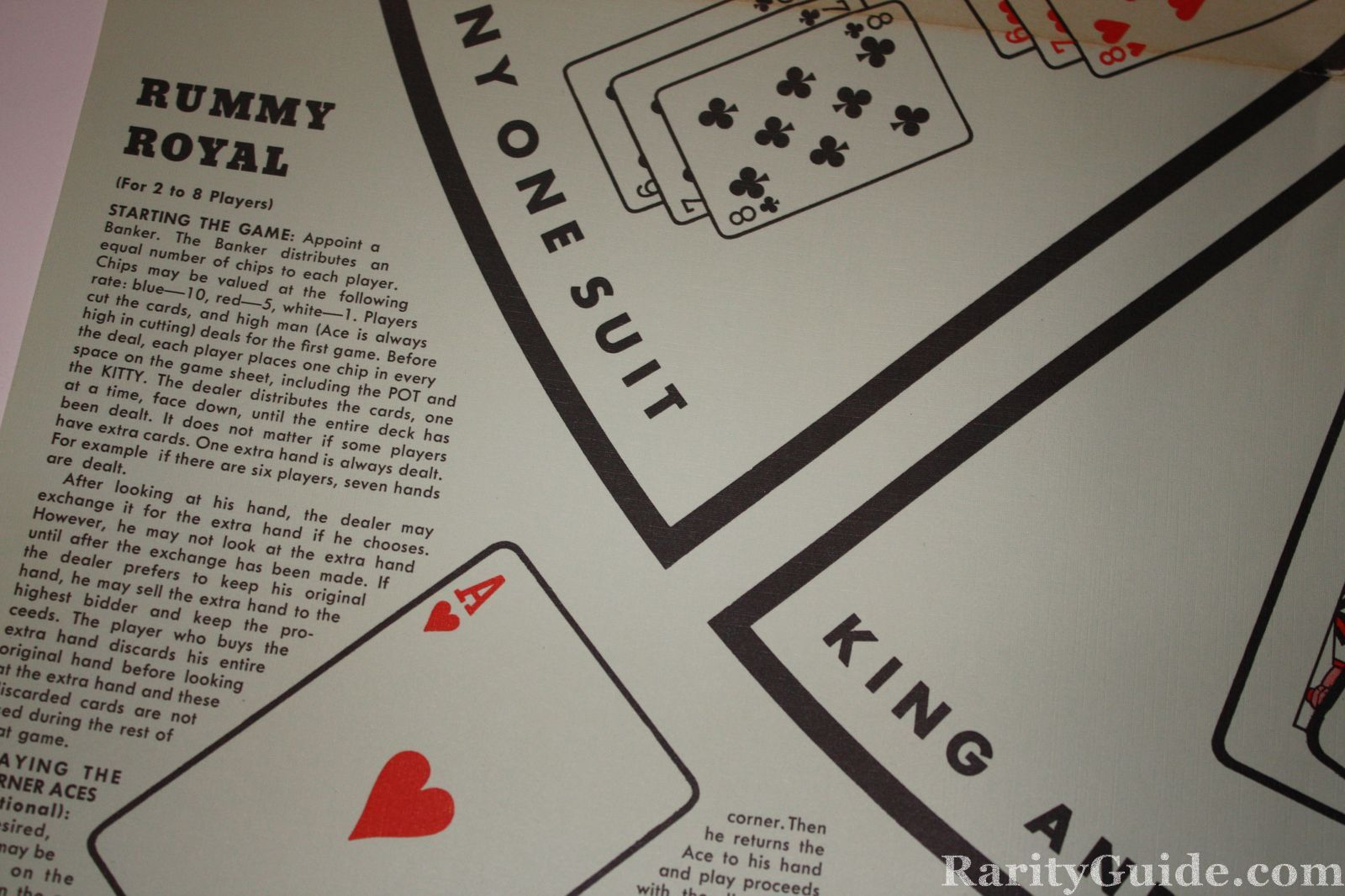 rules for playing rummy
