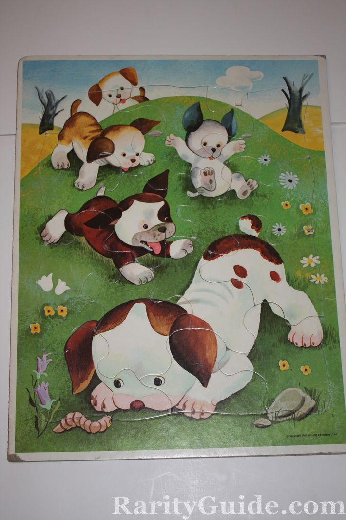 Rarityguidecom Museum Puzzles The Poky Little Puppy Western