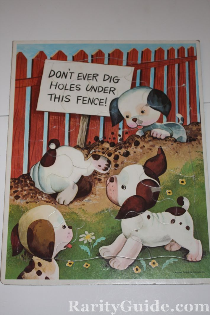 RarityGuide Museum Puzzles The Poky Little Puppy