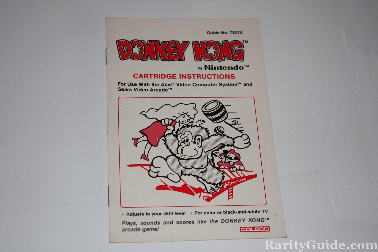 donkey kong 64 instructions