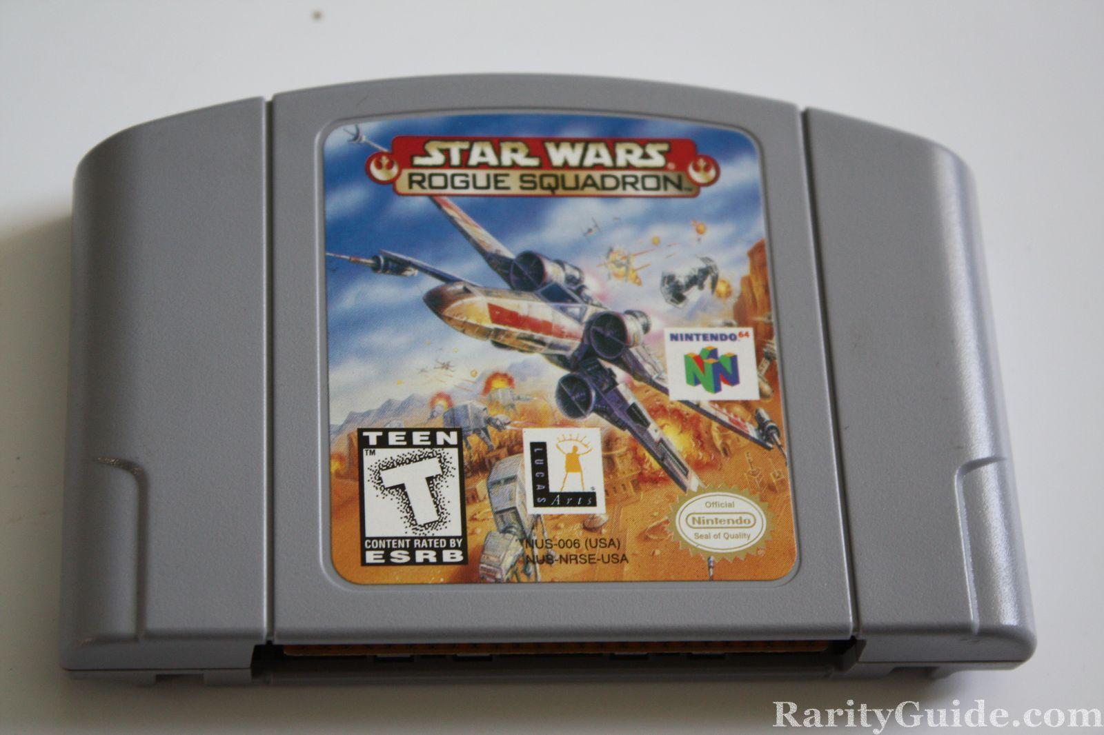 Nintendo 64 N64 Star Wars Rogue Squadron Video Game Cartridge