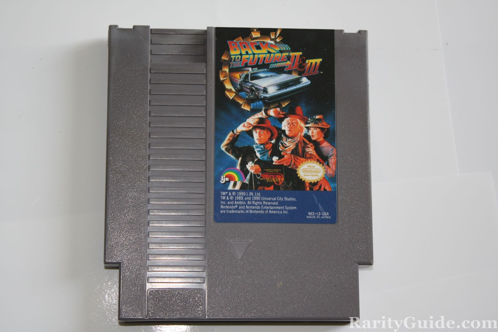 Nintendo entertainment system nes back to the future video game