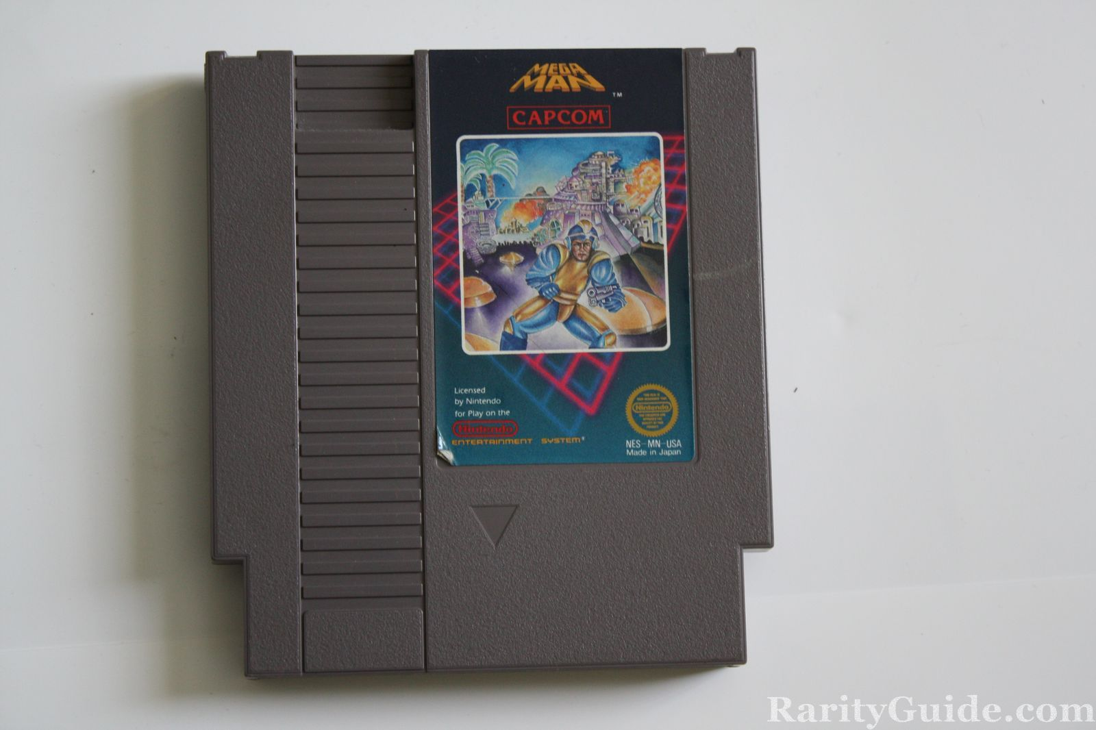 NES Nintendo Entertainment System Video Game Cartridge Mega Man