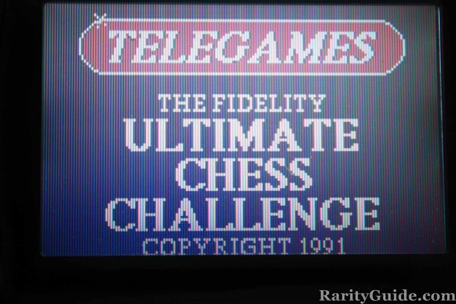 Telegames Ultimate Chess Challenge Screen Shot
