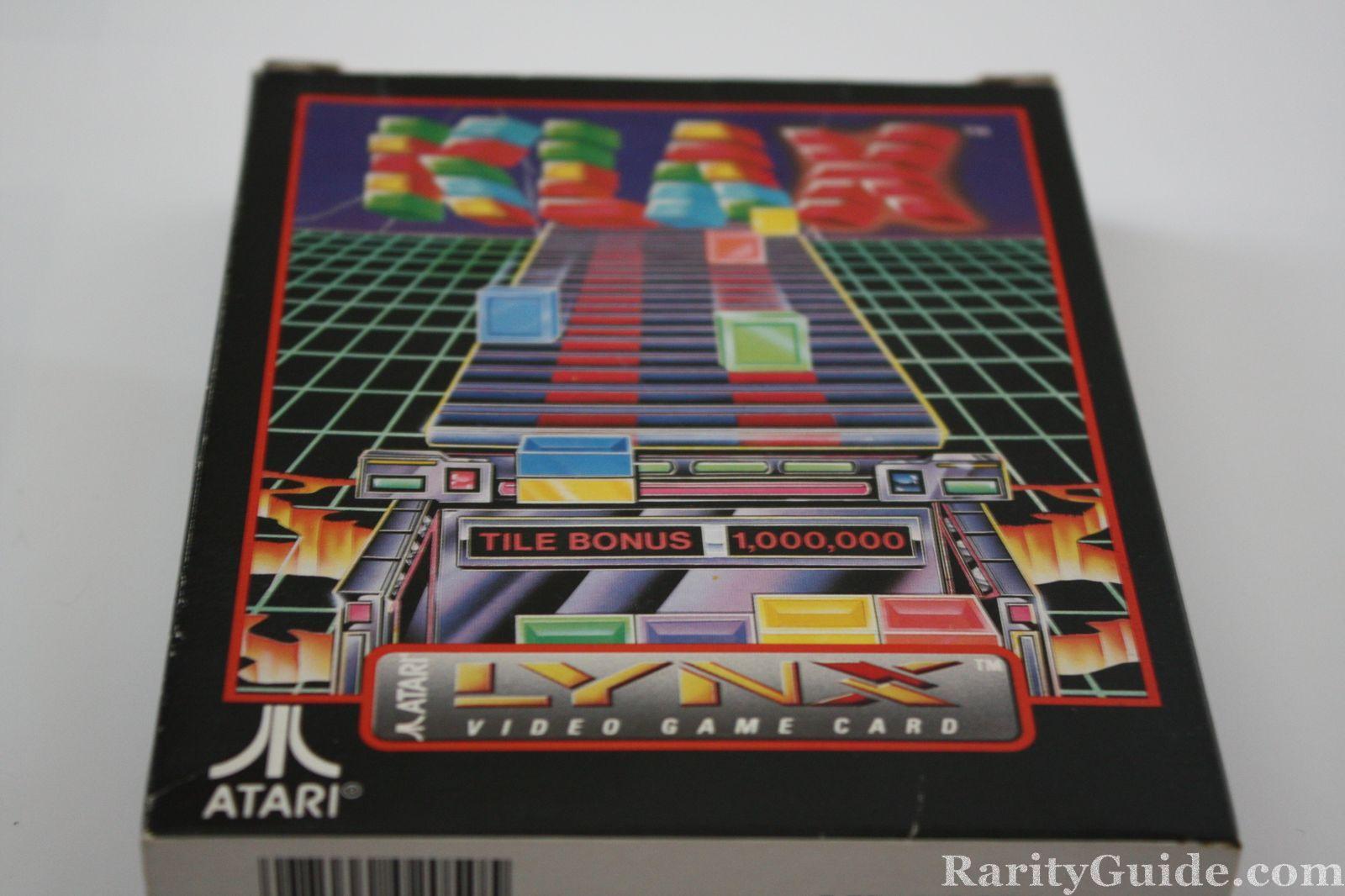 Klax for the Atari Lynx