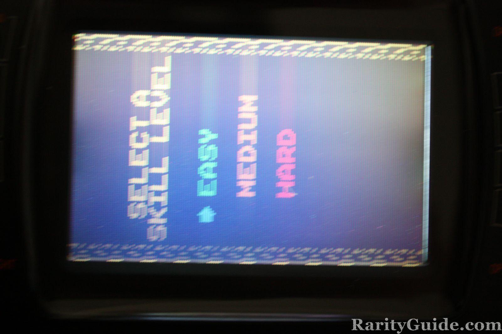 Atari Lynx Klax Level Menu Screenshot