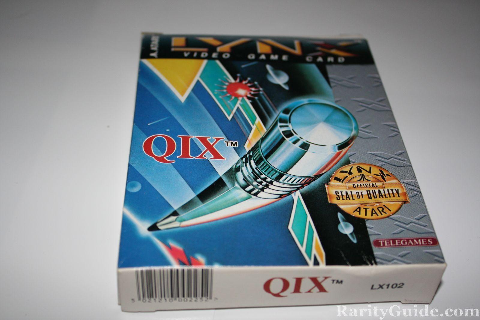 Atari Lynx Qix