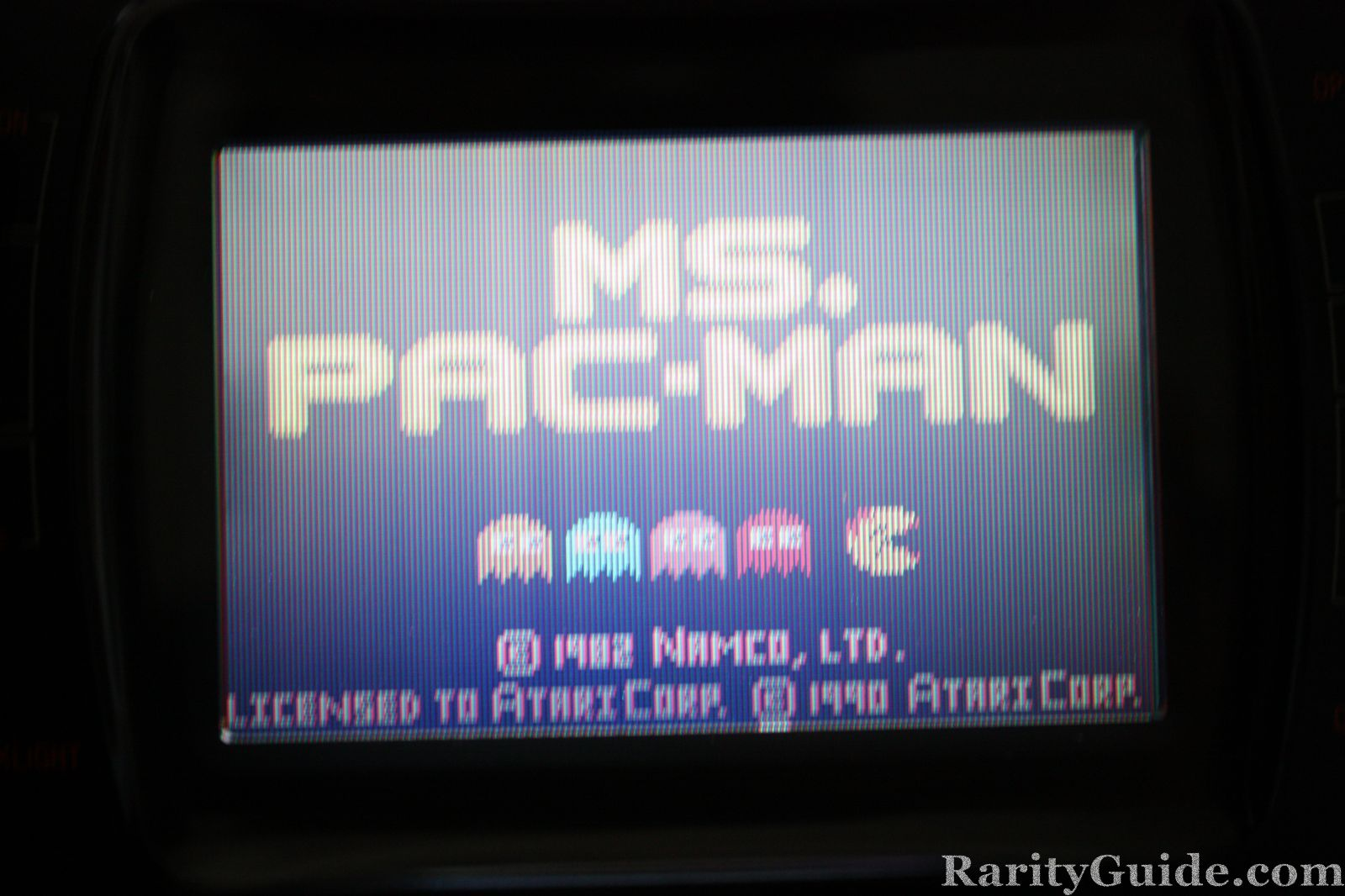 Ms. Pac-Man Title Screen shot