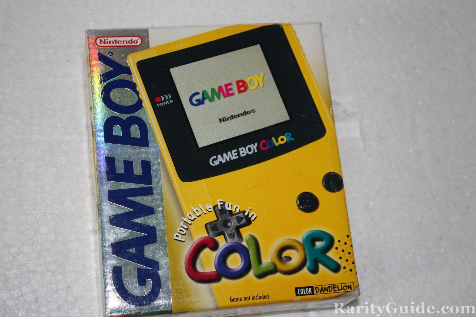 RarityGuide.com Museum: Video Game Handhelds » Game Boy Color (1998 ...