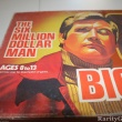 Six Million Dollar Man Bionic Crisis Board Game Box closeup