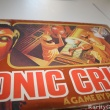 Closeup of Six Million Dollar Man Bionic Crisis Board Game box