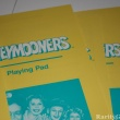 Honeymooners VCR Game by Mattel Playing Pads closeup