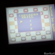Game Gear Five in One Funpak Checkers Skill Screen