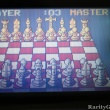Chess game screeenshot from Atari Lynx Handheld