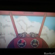 Plane inside clouds in WarBirds for Atari Lynx - 10.26.2008