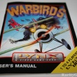 Atari Lynx Warbirds Users Manual - 10.26.2008