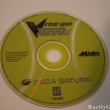 Sega Saturn Video Game Console Akklaim Virtual Open Tennis CD