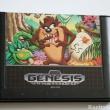 Sega Genesis Tazmania Video Game Cartrdige
