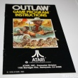 Atari 2600 Instructions Manual Outlaw