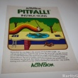 Atari 2600 Instructions Manual Pitfall
