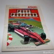 Atari 2600 Instructions Manual Pole Position