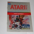 Atari 2600 Game Instructions Manual Realsports Baseball Sports Game